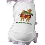 Gingerbread Men Christmas Holiday Dog Shirt