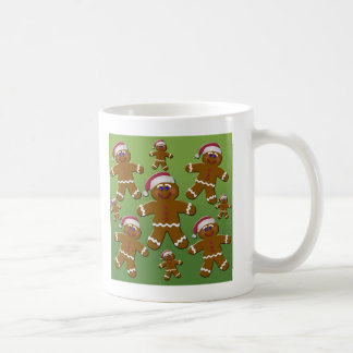 Gingerbread Men Coffee Mug