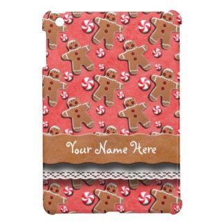 Gingerbread Men Cookies Candies Red iPad Mini Case
