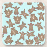 Gingerbread Men Drink Coasters