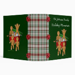 Gingerbread Men Holiday Christmas Binder