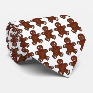 Gingerbread Men Holiday Cookies Christmas Tie
