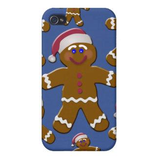 Gingerbread Men iPhone 4/4S Case