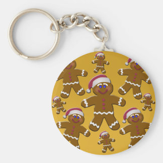 Gingerbread Men Keychains