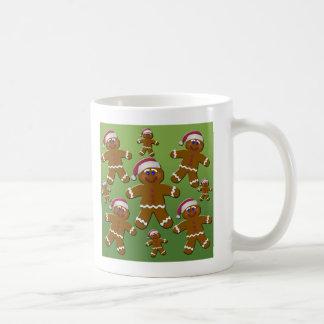 Gingerbread Men Classic White Coffee Mug