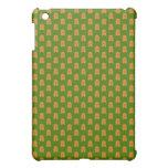 Gingerbread Men on Green iPad Mini Cases