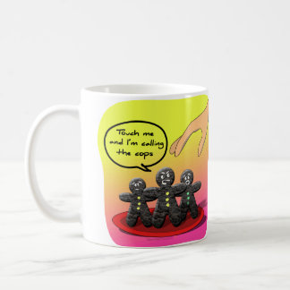 Gingerbread Men with Attitude Funny Cookies Mugs