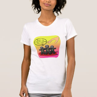 Gingerbread Men with Attitude Funny Cookies Tee Shirts
