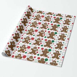 Gingerbread Men Wrapping Paper