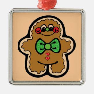 Gingerbread Metal Ornament