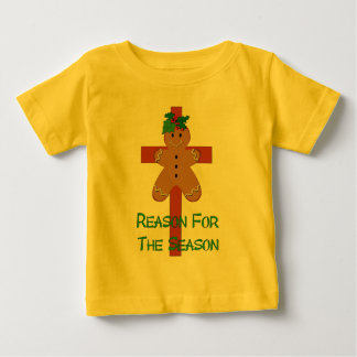 Gingerbread On A Cross Baby T-Shirt