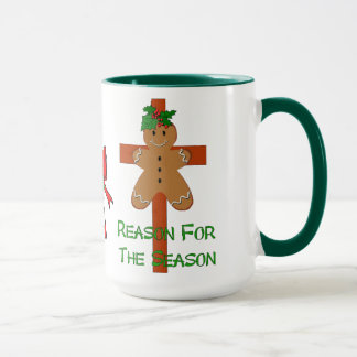 Gingerbread On A Cross Mug