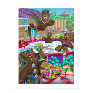 gingerbread_party postcard