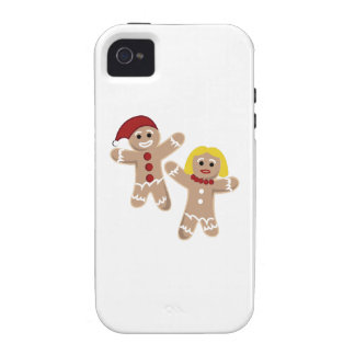 Gingerbread People Case-Mate iPhone 4 Covers