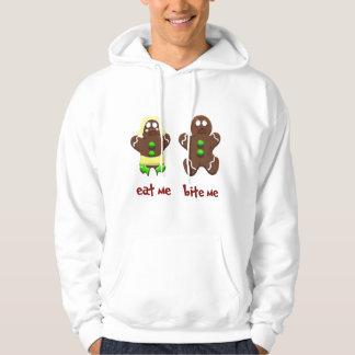 gingerbread people hoodie