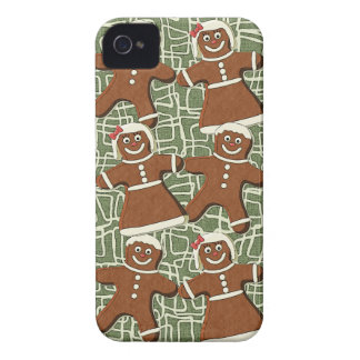 GINGERBREAD PEOPLE iPhone 4 Case-Mate Case