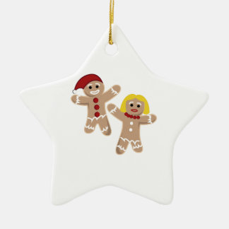 Gingerbread People Christmas Tree Ornaments