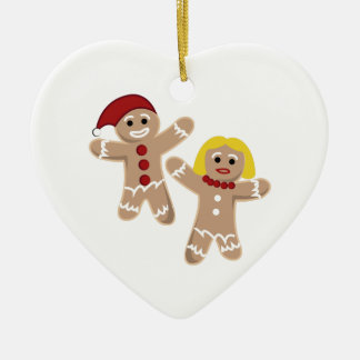 Gingerbread People Christmas Ornament