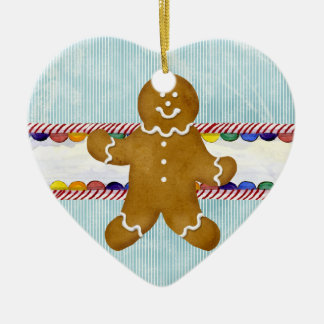 Gingerbread People, Peppermint Candy Ornament