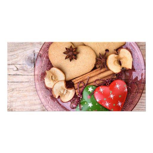 Gingerbread Photo Card