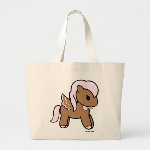 Gingerbread Pony | Jumbo Tote Dolce & Pony Bag