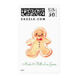 Gingerbread Postage
