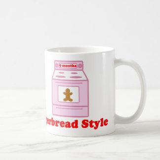 Gingerbread Pregnancy Coffee Mug
