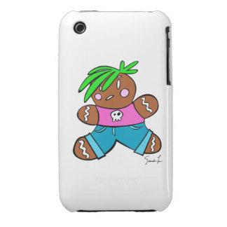 Gingerbread Punk Case-Mate iPhone 3 Cases