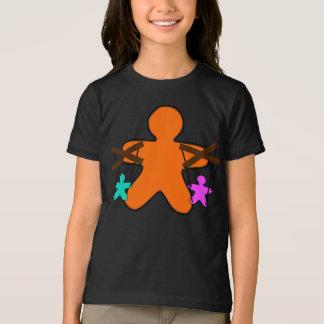 Gingerbread Puppet Girls T-Shirt
