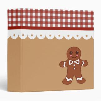 Gingerbread Recipe Binder