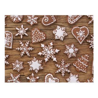 Gingerbread Reindeer Cookies Postcard