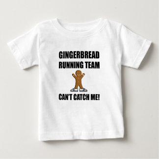 Gingerbread Running Team Baby T-Shirt
