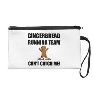 Gingerbread Running Team Wristlet
