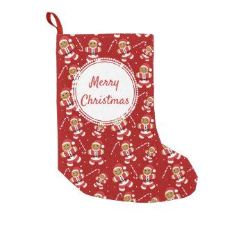 Gingerbread Santa Candy Cane | Christmas Stocking