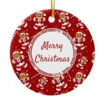 Gingerbread Santa Candy Cane Pattern | Ornament