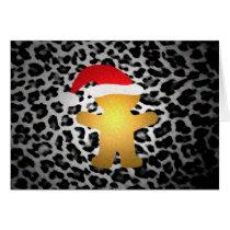 Gingerbread Santa Gone Wild Card