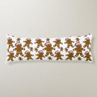 Gingerbread Santas Body Pillow