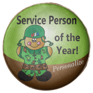 Gingerbread Service Person of the Year Treats Chocolate Covered Oreo