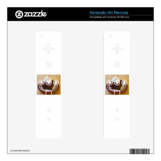GINGERBREAD DECALS FOR THE WII REMOTE