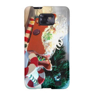 Gingerbread Sleigh I Galaxy S2 Covers