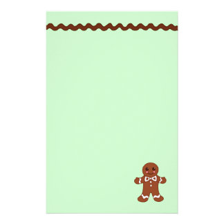 Gingerbread Stationery