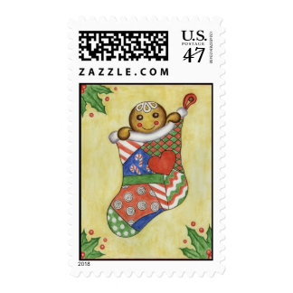 Gingerbread Stocking Postage