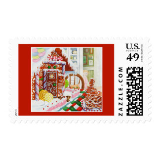 Gingerbread Surprise 1st Class 1oz Stamps