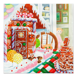 Gingerbread Surprise Card