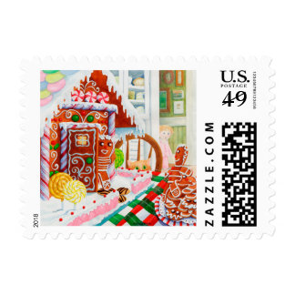 Gingerbread Surprise Postage