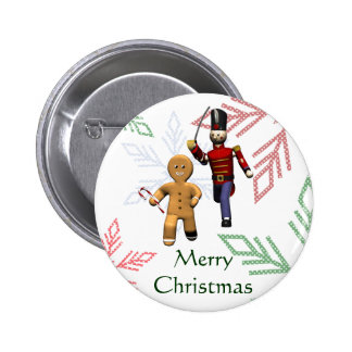 Gingerbread Thief Buttons