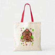 Gingerbread Tote Bag Christmas Holiday gift