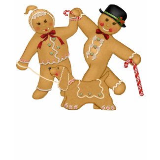 Gingerbread Trio shirt