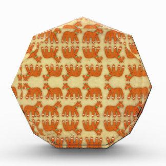 Gingerbread Unicorn Acrylic Award