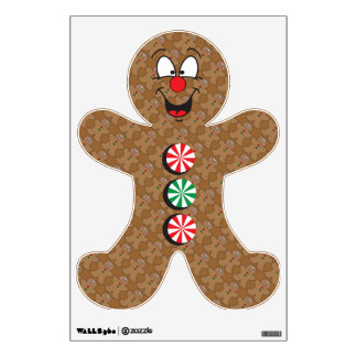 Gingerbread Wall Decal